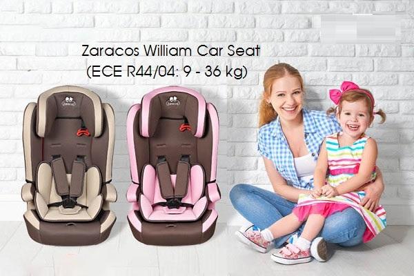 Zaracos William 5086 có 2 màu: nâu và hồng
