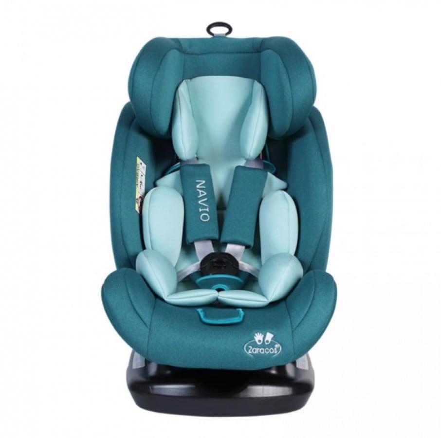 Ghế ngồi ô tô trẻ em Zaracos Navio 5196 Isofix màu xanh