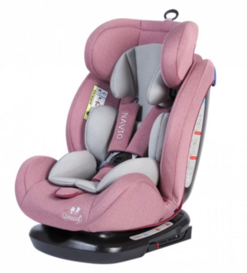Ghế ngồi ô tô trẻ em Zaracos Navio 5196 Isofix màu hồng