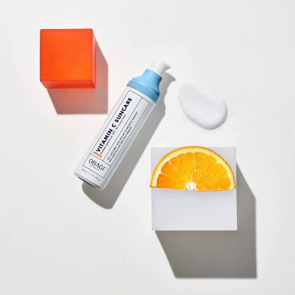 Kem chống nắng thành phần vitamin C hỗ trợ bảo vệ da toàn diện