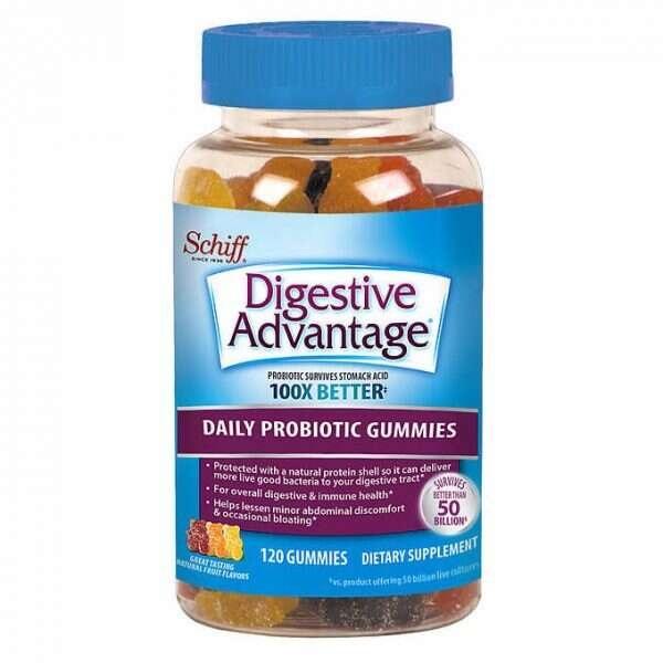 Kẹo hỗ trợ hệ tiêu hóa cho trẻ em Schiff Digestive Advantage Probiotic