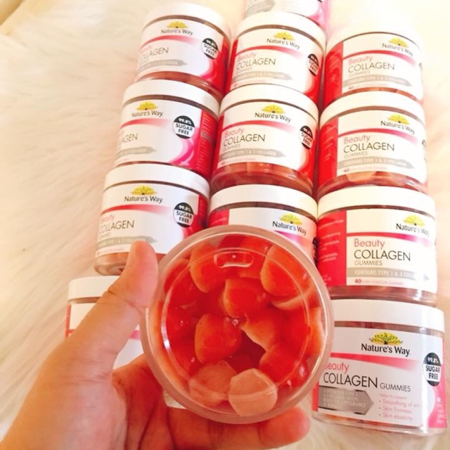 Kẹo Collagen hương vị tự nhiên dễ ăn
