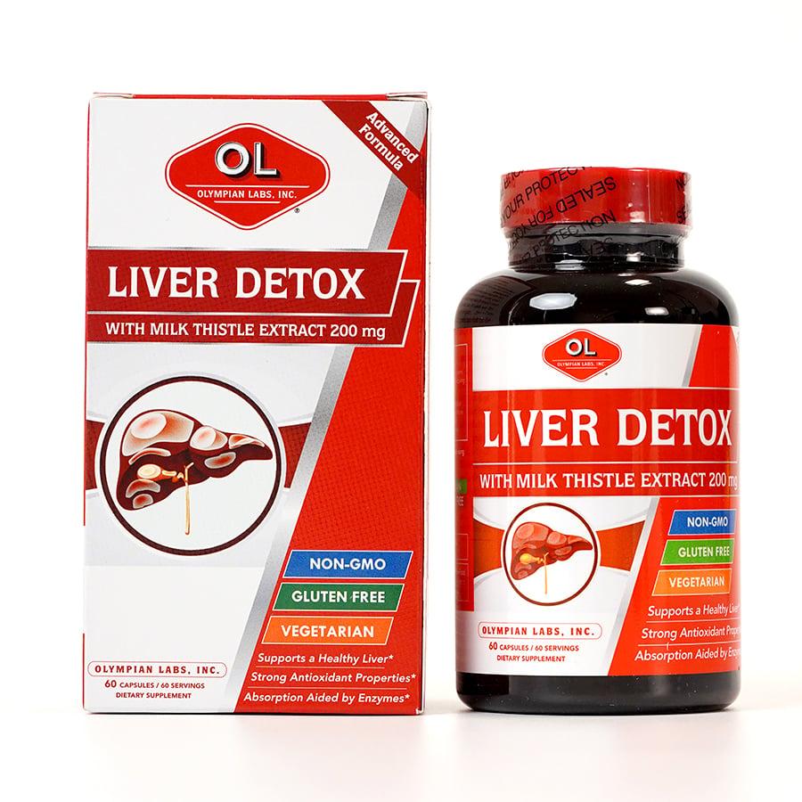 Viên uống OL Liver Detox