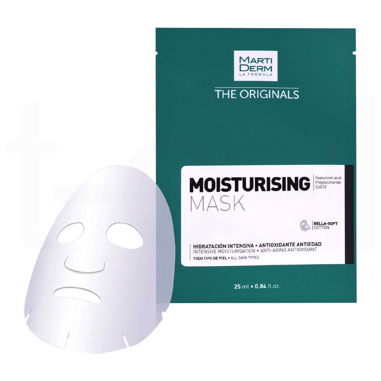 Mặt nạ MartiDerm The Originals Moisturising Mask hỗ trợ dưỡng trắng da tự nhiên