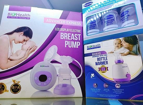Máy hút sữa điện đơn Bio HealthAE Basic hỗ trợ mẹ hút sữa nhẹ nhàng, hiệu quả