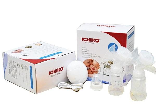Máy hút sữa điện đôi Ichiko Nhật Bản chính hãng