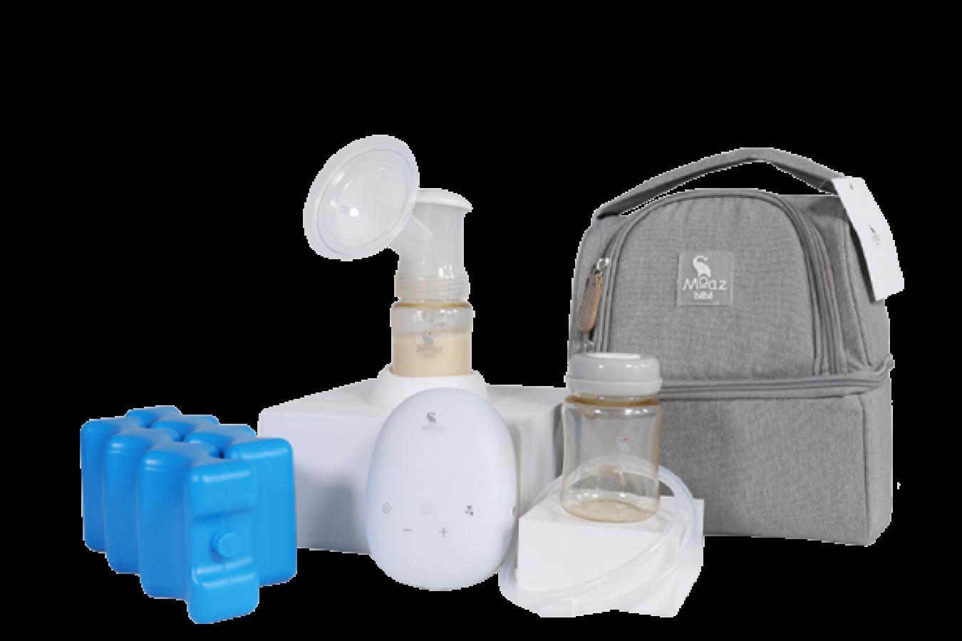 Máy hút sữa điện đôi Moaz Bebe MB-029