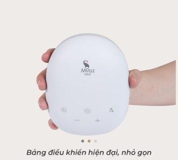 Máy hút sữa điện đôi Moaz Bebe MB-029 bảng điều khiển thông minh