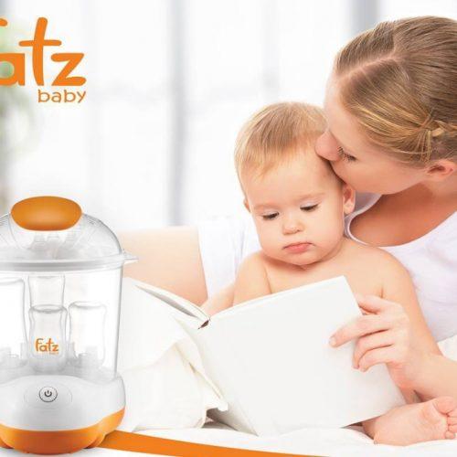 Máy tiệt trùng sấy khô Fatz FB4906SL hỗ trợ mẹ chăm sóc bé khỏe mạnh