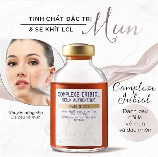 Serum BR Complexe Iribiol hỗ trợ hiệu quả cho da mụn