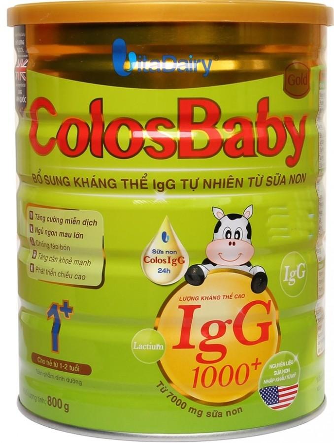 Sữa Colosbaby Gold 1+ cho trẻ từ 1 - 2 tuổi