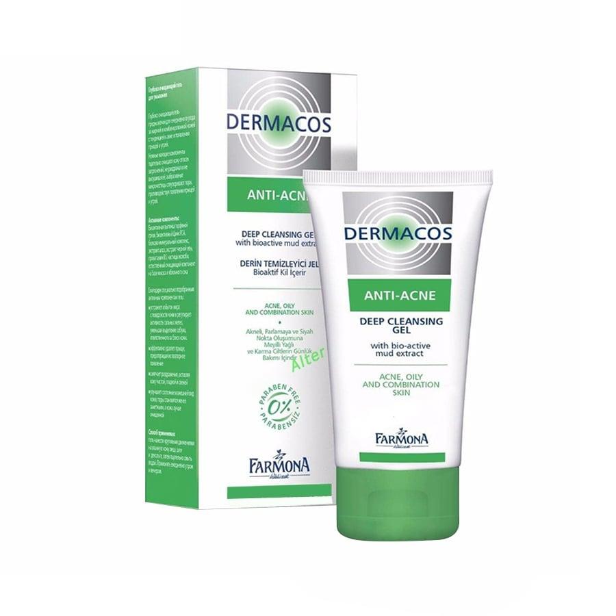 Sữa rửa mặt Farmona Dermacos Anti Acne Deep Cleansing Gel