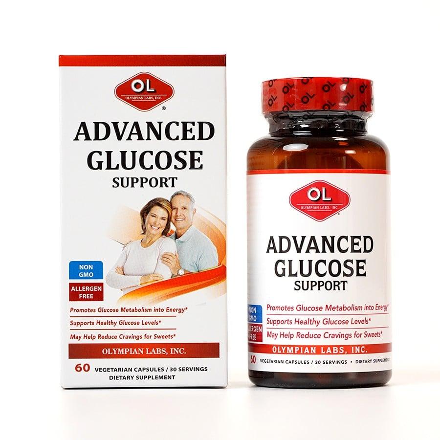 Viên uống hỗ trợ ổn định đường huyết Olympian Labs Advanced Glucose Support