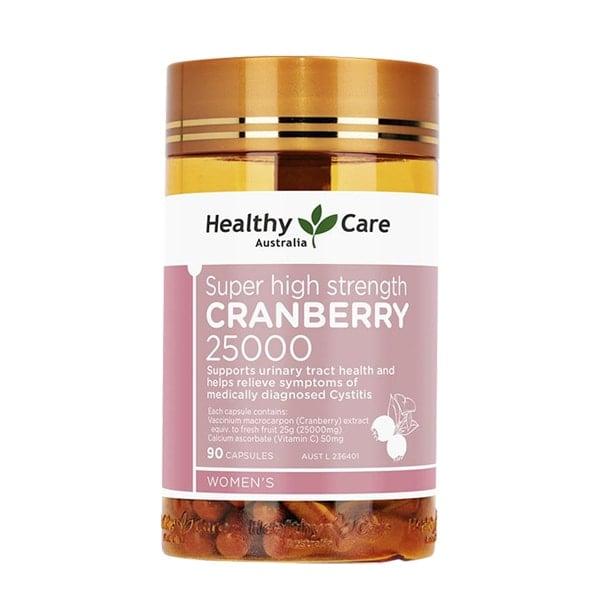 Healthy Care Cranberry 25000mg Úc hỗ trợ đường tiết niệu