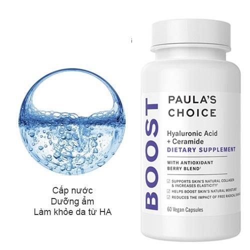 Viên uống cấp nước tối ưu cho da