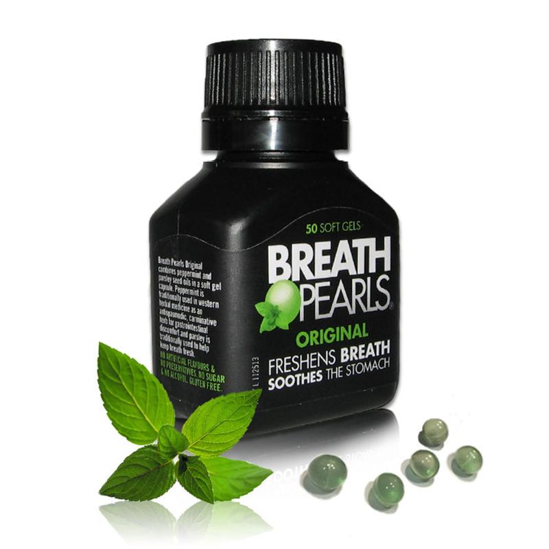 Breath pearls hỗ trợ thơm miệng