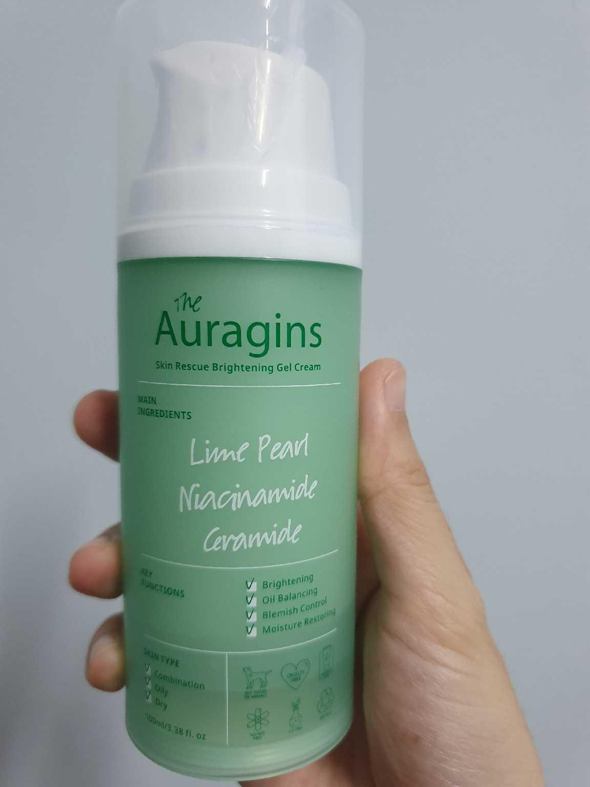 Dưỡng ẩm The Auragins Skin Rescue Brightening Gel Cream