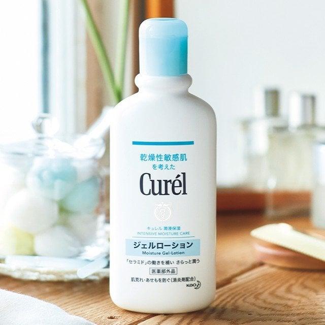 Gel dưỡng thể cấp ẩm chuyên sâu Curél Intensive Moisture Care Gel-Lotion Nhật Bản