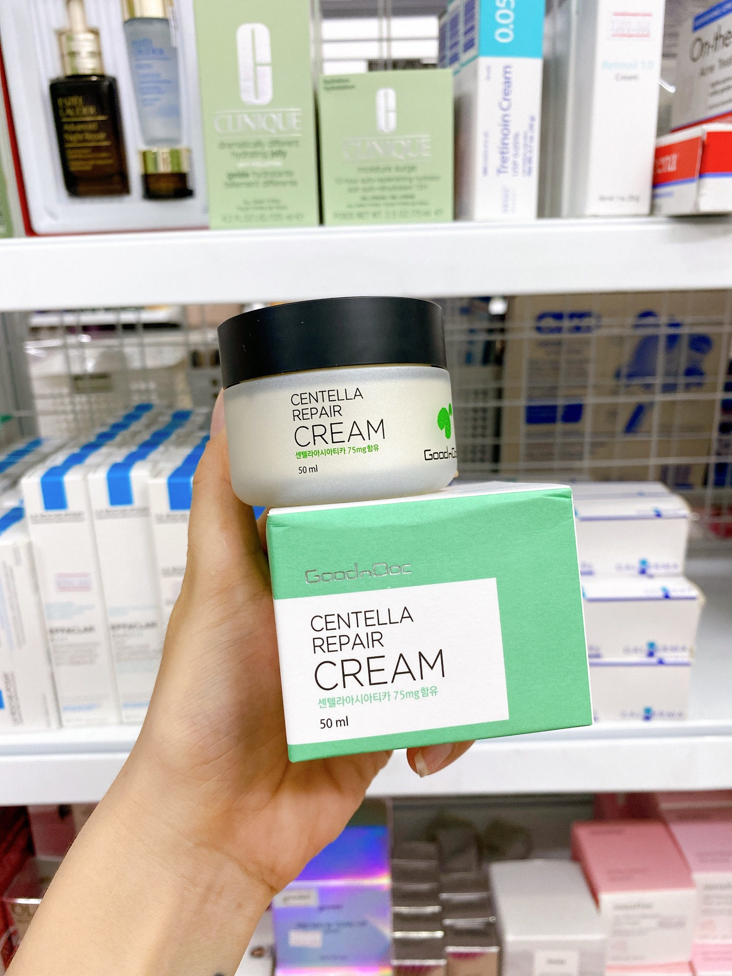 Kem GoodnDoc Centella Repair Cream bảo vệ da mượt mà