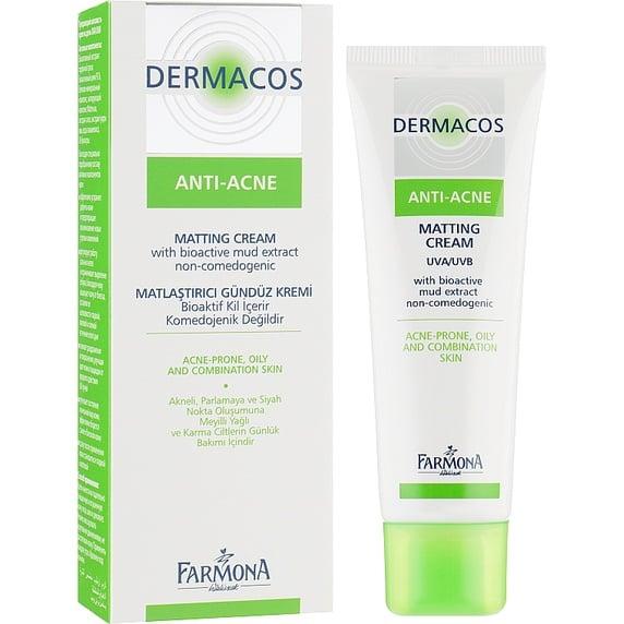 Kem hỗ trợ giảm mụn Farmona Dermacos Anti Acne 50ml chính hãng