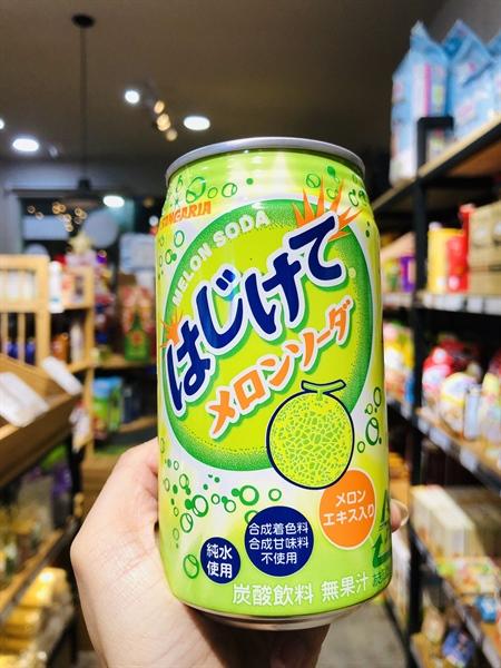 Soda Sangaria Hajikete - thức uống giải khát hàng đầu Nhật Bản