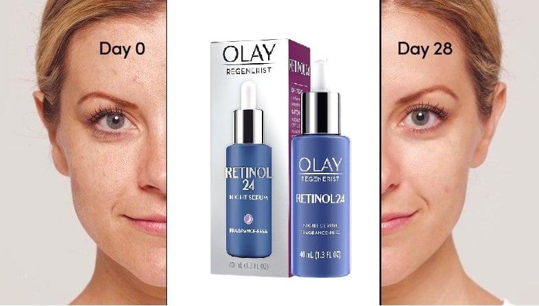 Serum dưỡng da Olay regenerist Retinol hỗ trợ làm mới, tái tạo da
