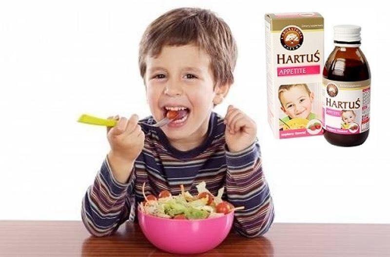 Siro Hartus Appetite - Hỗ trợ cải thiện chứng biếng ăn của trẻ