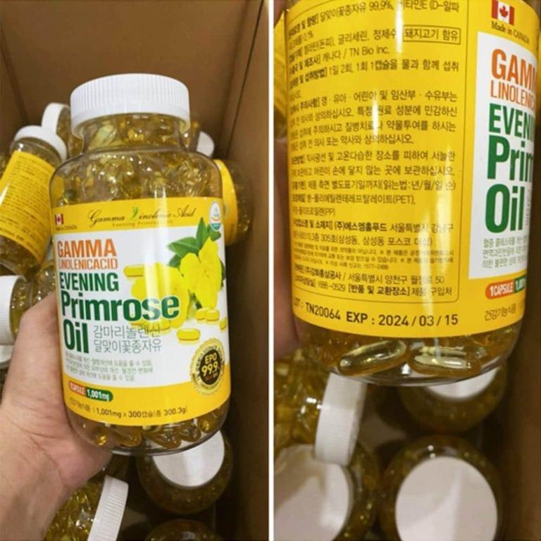 Thành phần tinh dầu hoa anh thảo Hàn Quốc