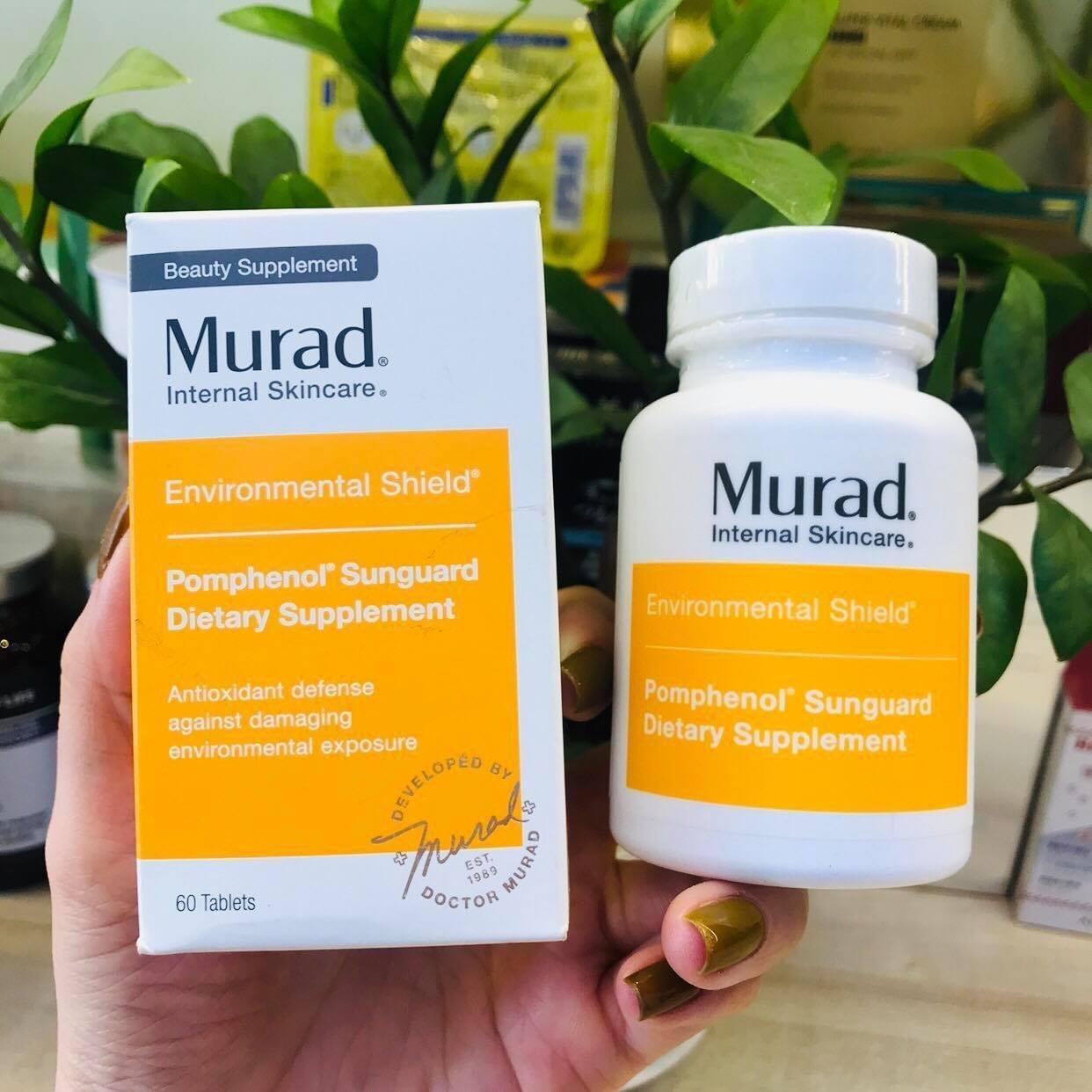 Viên uống chống nắng Murad bảo vệ da tối ưu