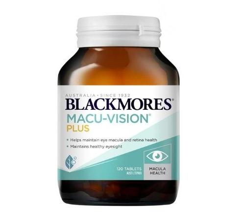 Viên uống Blackmores Macu-Vision Plus 120 viên của Úc