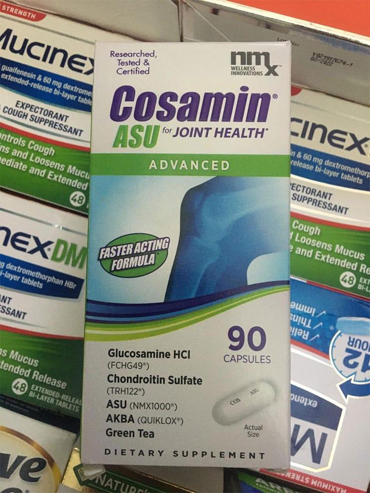 Viên uống Cosamin ASU chính hãng Mỹ