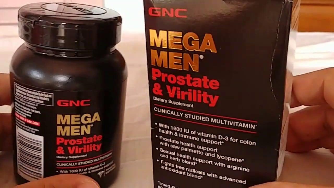Viên uống GNC Mega Men Prostate and Virility chính hãng từ Mỹ