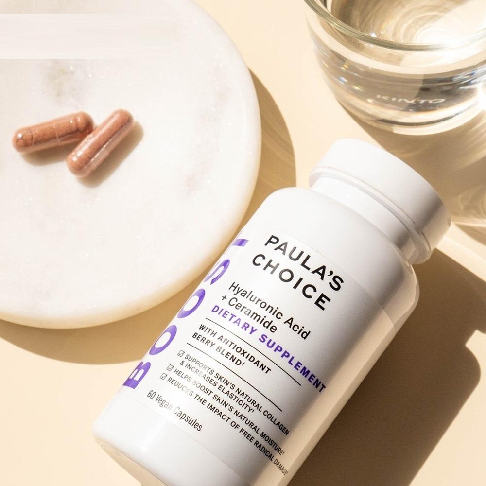 Viên uống Paula's Choice Hyaluronic Acid hỗ trợ cấp nước cho da