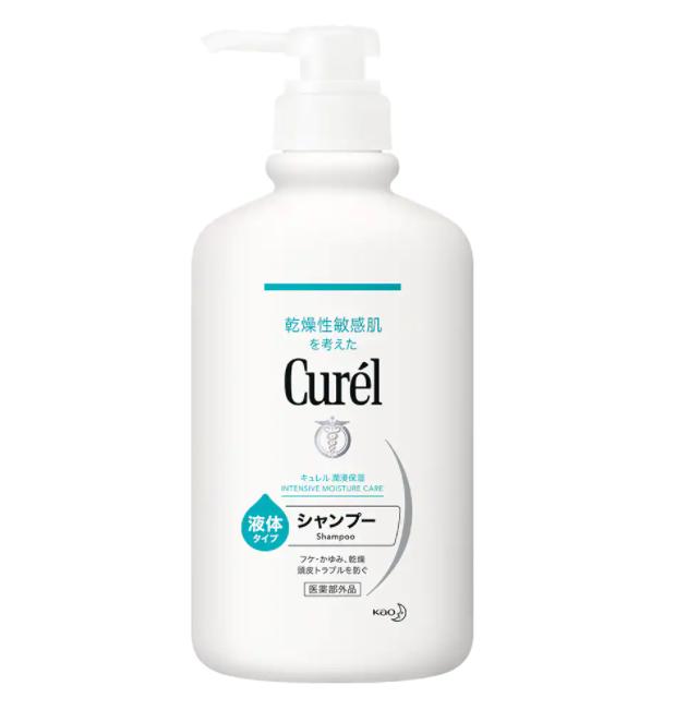 Dầu gội dưỡng tóc và da đầu Curél Intensive Moisture Care Shampoo