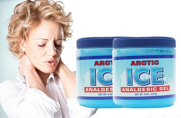 Dầu lạnh xoa bóp giảm đau nhức Arctic Ice Analgesic Gel