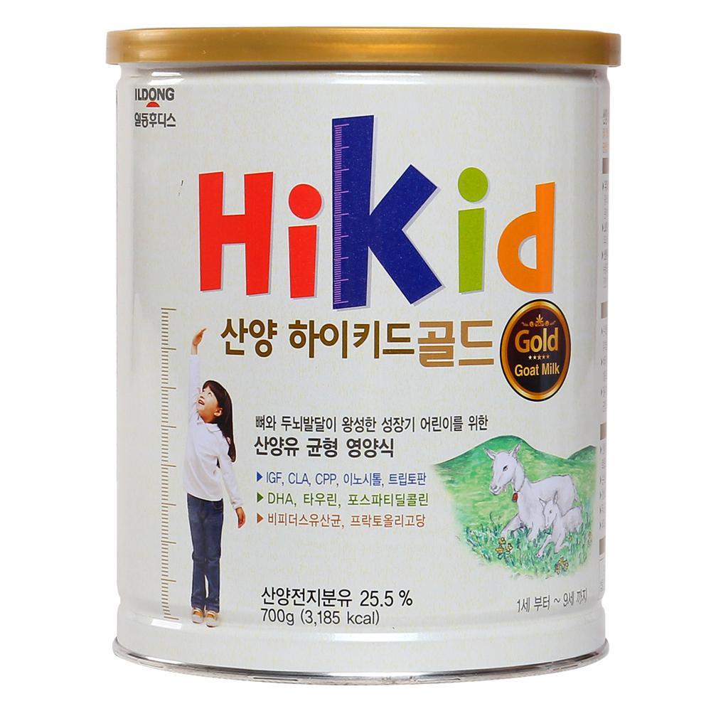 Sữa dê Hikid Gold