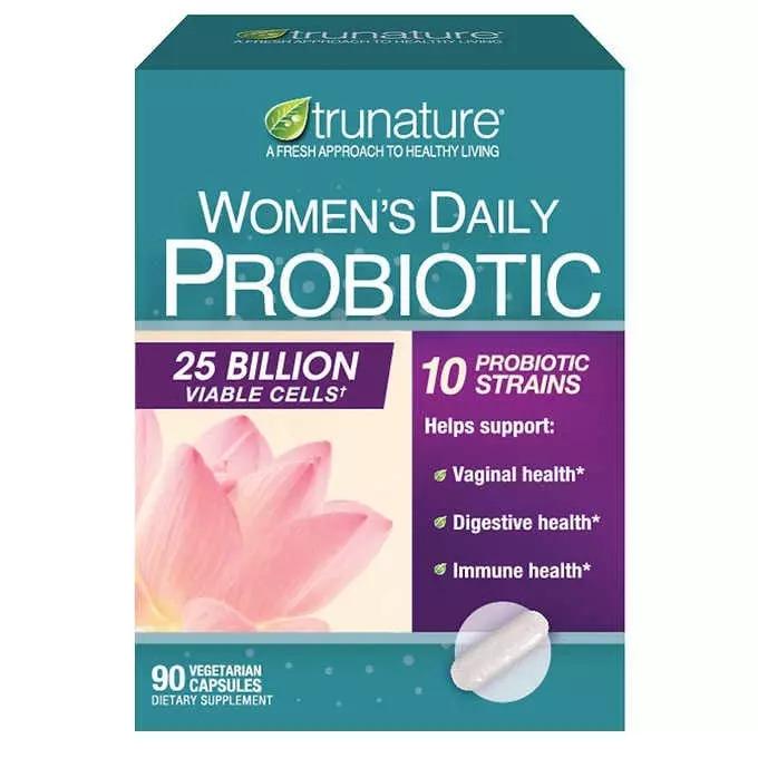Men vi sinh Trunature Women's Daily Probiotic