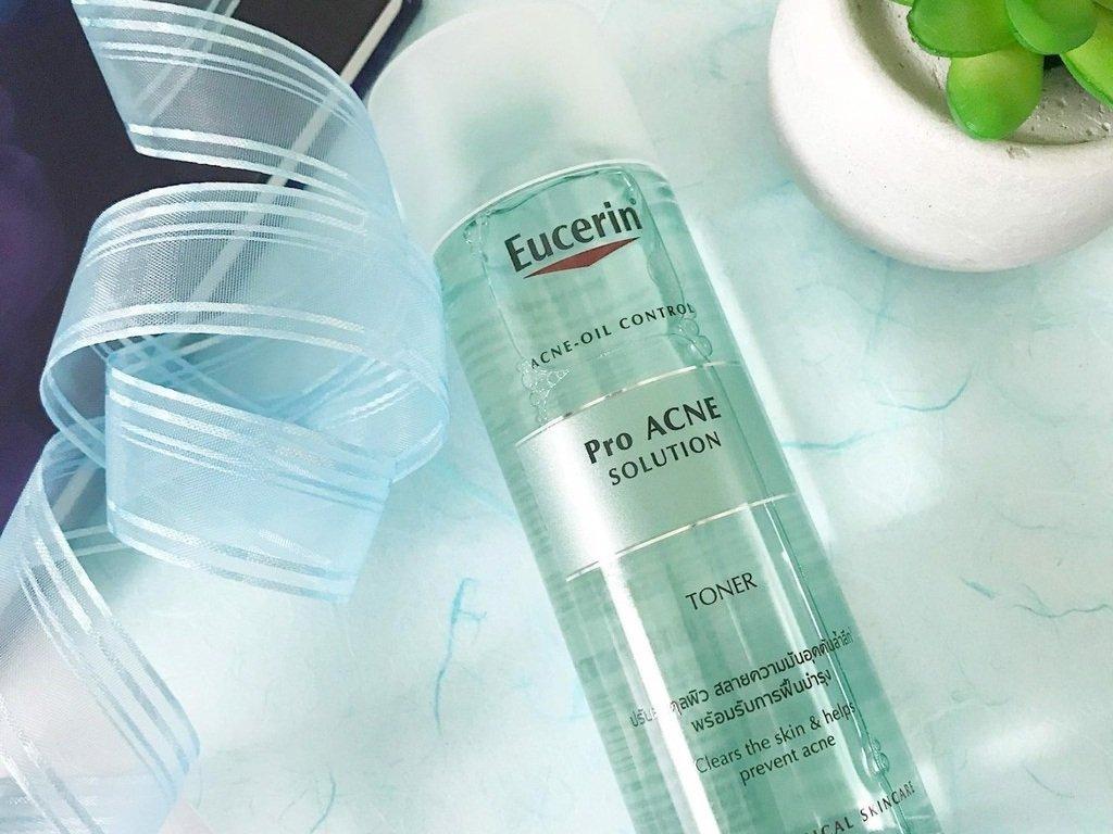 Nước cân bằng Eucerin Pro Acne Solution Toner cho da nhờn mụn