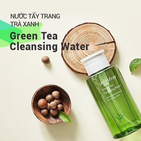 Nước tẩy trang trà xanh Innisfree Green Tea Cleansing Water cho da dầu mụn