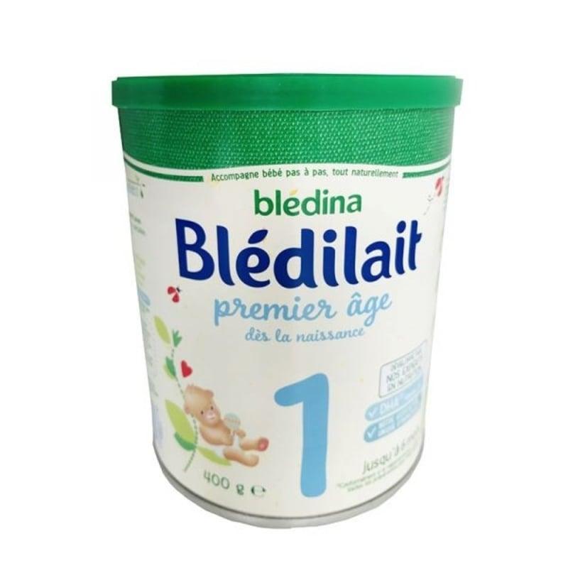Sữa bột Bledilat 1 cho bé 0 - 6 tháng tuổi của Pháp (400g)