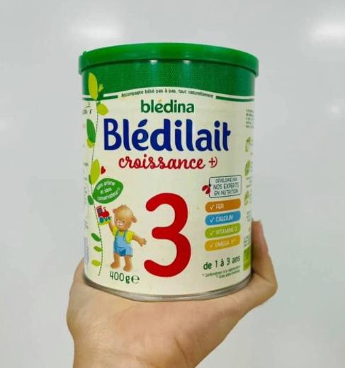 Sữa bột Bledilait số 3 cho bé từ 1 - 3 tuổi 400g