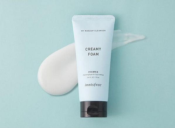 Sửa rửa mặt kết hợp tẩy trang Innisfree My Makeup Cleanser Creamy Foam