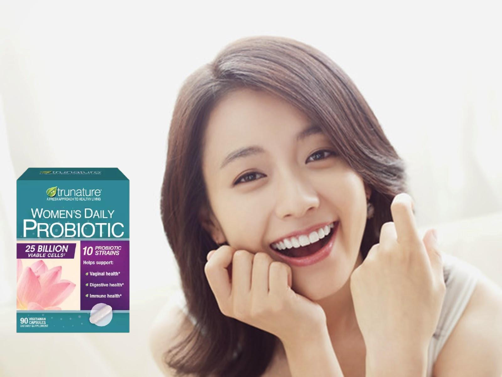 Men vi sinh cho nữ Trunature Women's Daily Probiotic hõ trợ sức khỏe toàn diện