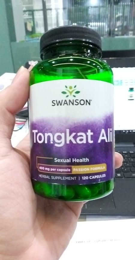 Tongkat Ali Malaysia của Swanson Passion 400mg 120 viên