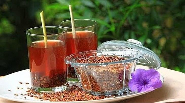 Trà gạo lứt đậu đỏ hỗ trợ giảm cân, bảo vế sức khỏe