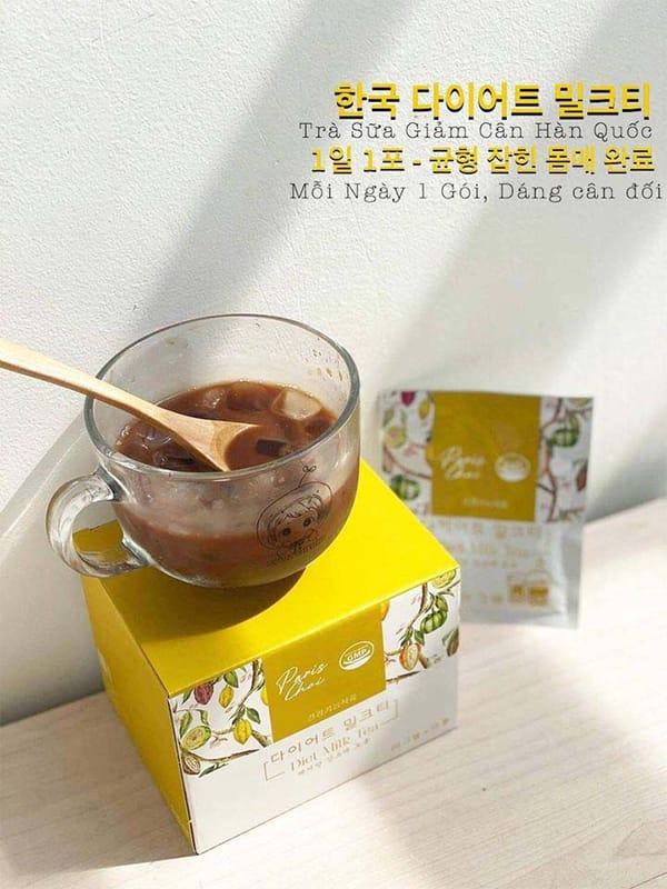 Trà sữa Genie Paris Choi Diet Milk TeaHàn Quốc
