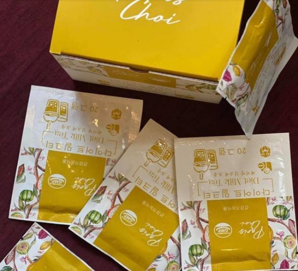 Trà sữa Genie Paris Choi Diet Milk Tea hỗ trợ giảm cân