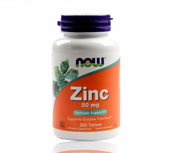 Viên uống bổ sung Kẽm ZinC50mg Now chính hãng Mỹ