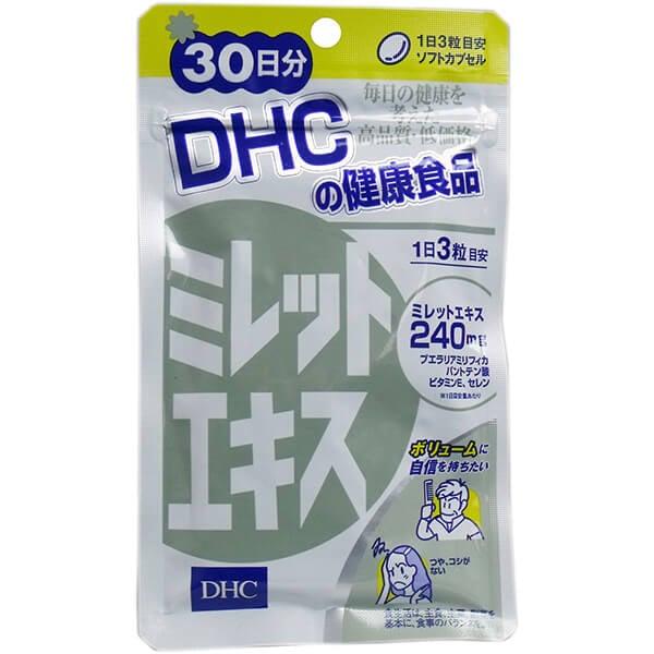 Viên uống chiết xuất hạt kê DHC Nhật Bản hỗ trợ mọc tóc