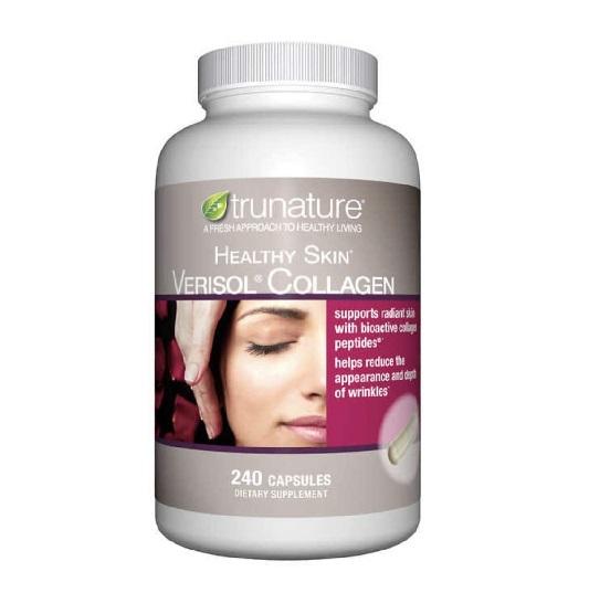 Viên uống bổ sung Collagen Trunature Healthy Skin 240 viên